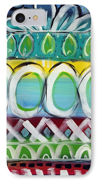 Fiesta - Colorful Painting IPhone Case by Linda Woods