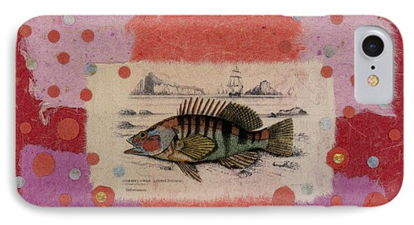 Fiesta Fish Collage IPhone Case by Carol Leigh