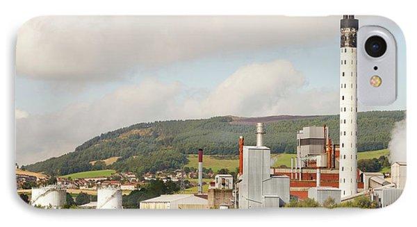 Fife Power Station A Gas Turbine IPhone Case