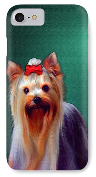 IPhone Case featuring the painting Fifi by Tyler Robbins