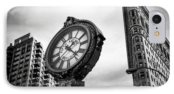 Fifth Avenue Building Clock IPhone Case