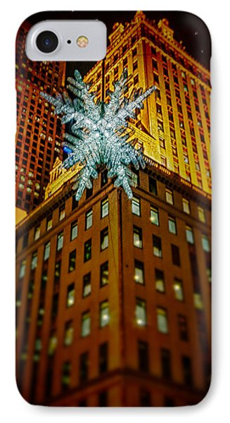 IPhone Case featuring the photograph Fifth Avenue Holiday Star by Chris Lord