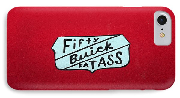 Fifty Buick Fatass IPhone Case by Jerry Bunger