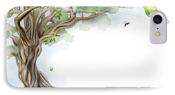 Fig Tree And Wasp IPhone Case