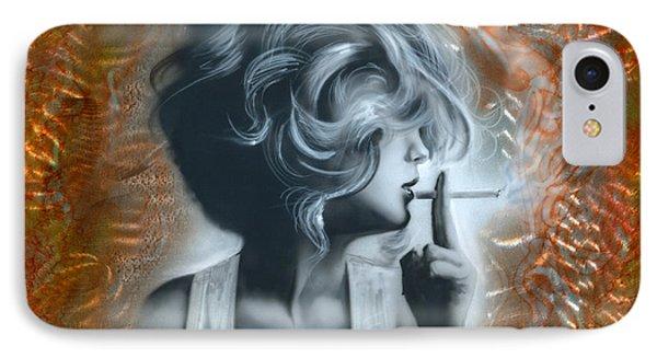 Woman IPhone Case by Luis  Navarro