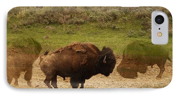 Fighting Buffalo IPhone Case by Dan Sproul