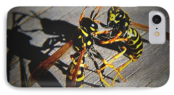 IPhone Case featuring the photograph Fighting Hornets by JRP Photography
