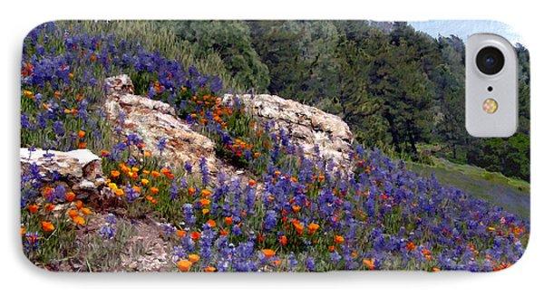 Figueroa Mountain Splendor Phone Case by Kurt Van Wagner