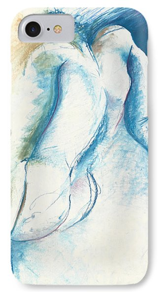 Figurative Abstract IPhone Case by Melinda Dare Benfield