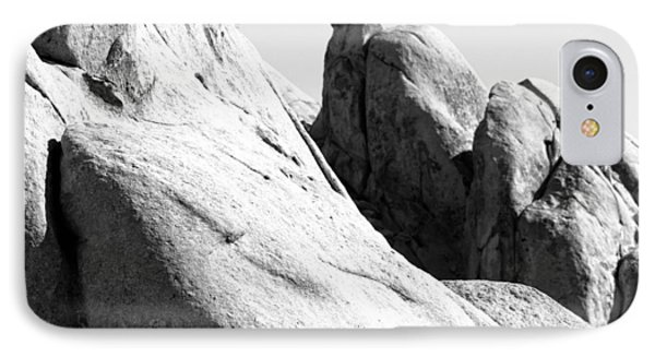 IPhone Case featuring the photograph Figures Within Rock by Carolina Liechtenstein