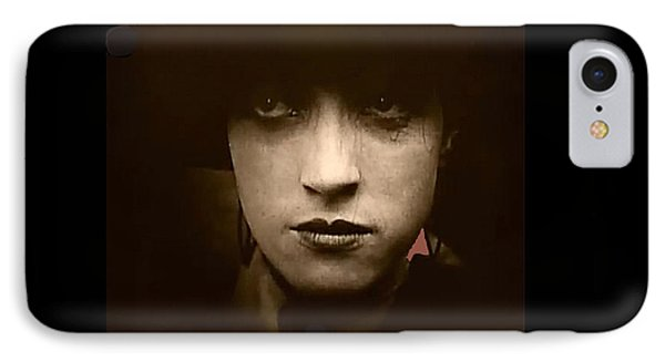 Film Homage Billy Bitzer Miriam Cooper Intolerance 1916 Screen Capture Color Added 2012 Phone Case by David Lee Guss