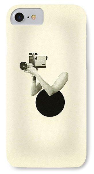 Film Noir IPhone Case by Cassia Beck