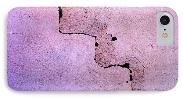 Film Noir Robert Loggia Jeff Bridges Jagged Edge 1985 Brick Wall Casa Grande Arizona 2004 IPhone Case by David Lee Guss