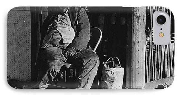 Film Noir Robert Mitchum Where Danger Lives 1950 El Bulla Nogales Sonora Mexico 1968 Phone Case by David Lee Guss
