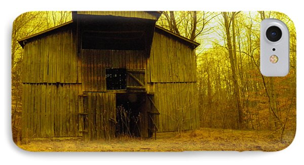 IPhone Case featuring the photograph Filtered Barn by Nick Kirby