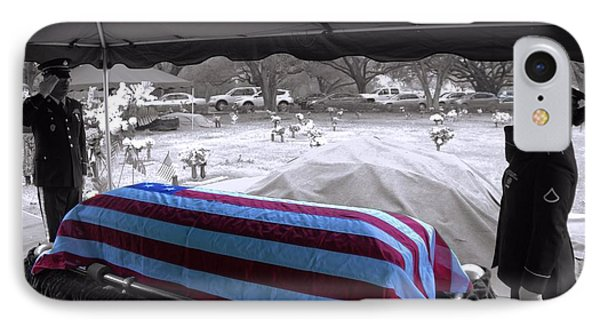 Final Salute IPhone Case by Arthur Herold Jr