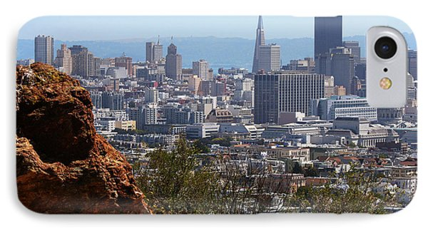 Financial District From Corona Heights Phone Case by Robert Woodward