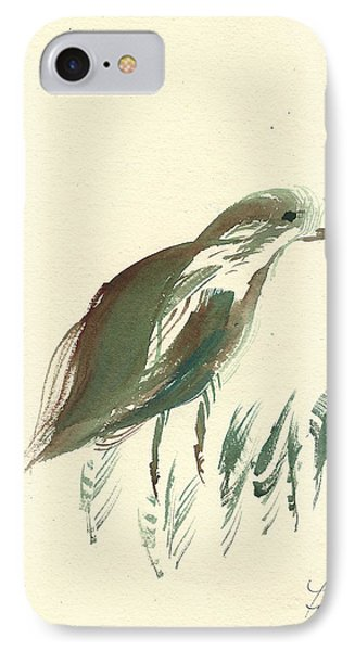 IPhone Case featuring the painting Finch Bird by Frank Bright