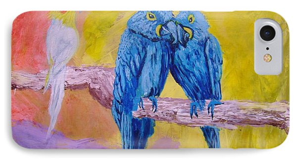 Fine Feathered Friends 1 IPhone Case
