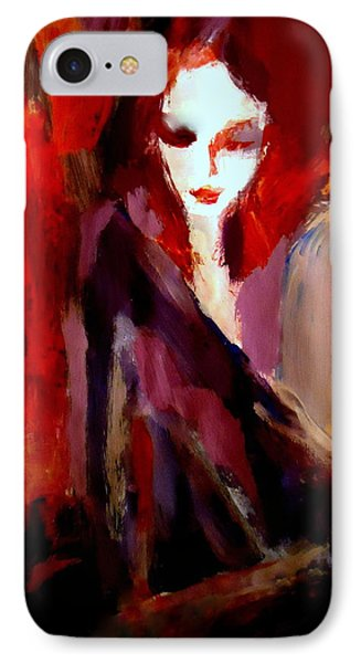 IPhone Case featuring the painting Finesse by Helena Wierzbicki