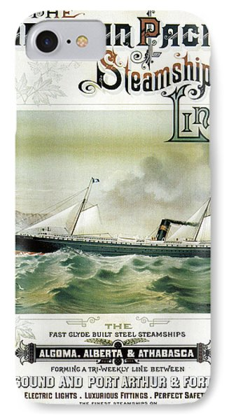 Finest Steamships On Inland Waters IPhone Case by Georgia Fowler