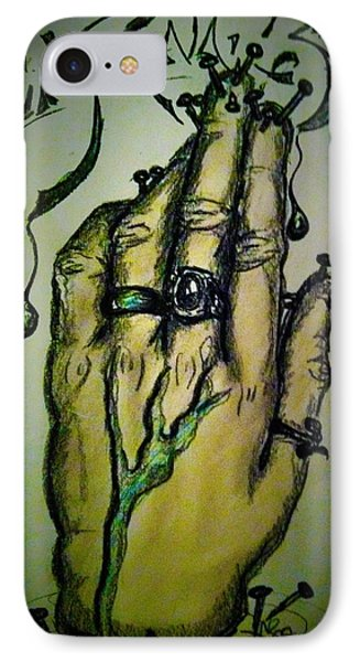 Fingernails IPhone Case