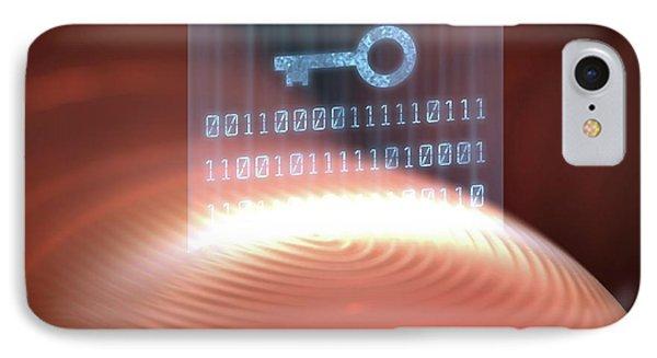 Fingerprint Scanner IPhone Case by Ktsdesign