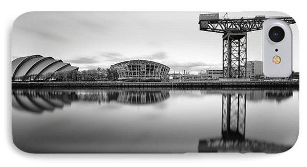 Finnieston Crane Glasgow IPhone Case by John Farnan