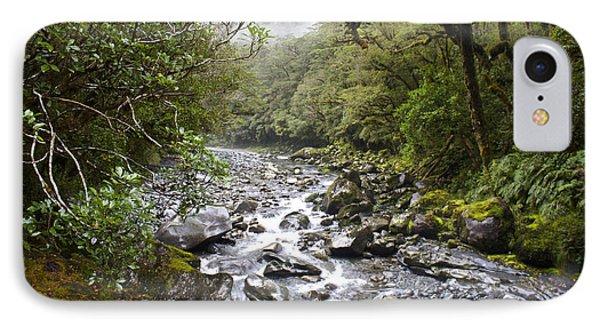 Fiordland National Park New Zealand IPhone Case by Venetia Featherstone-Witty