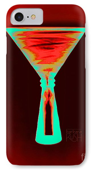 Fire And Ice Martini IPhone Case