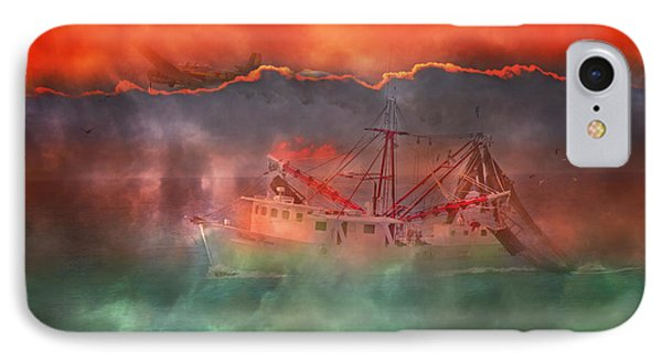 Fire And Ice Misty Morning Phone Case by Betsy Knapp