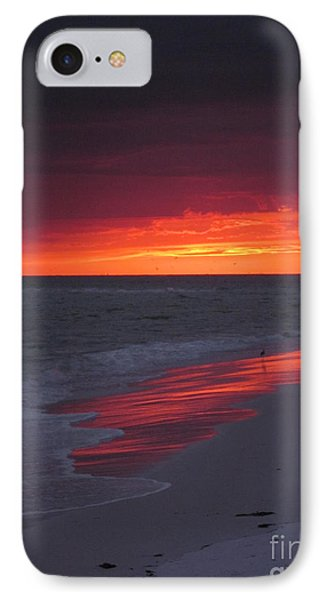 Fire And Water IPhone Case by Elizabeth Carr
