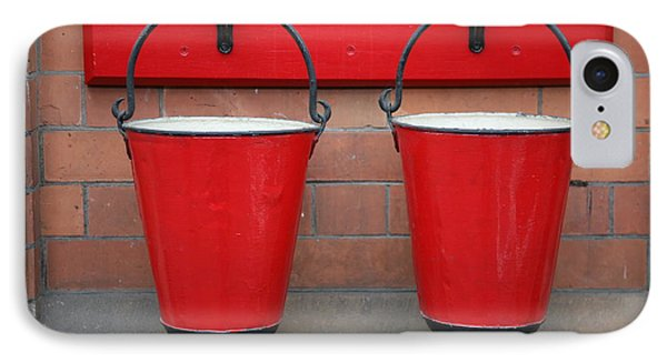 Fire Buckets Phone Case by Mark Severn