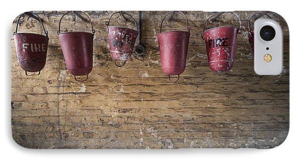 Fire Buckets Phone Case by Svetlana Sewell