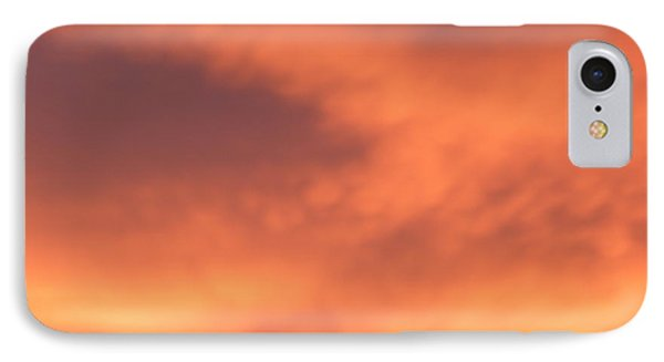 Fire Clouds IPhone Case by Joseph Baril