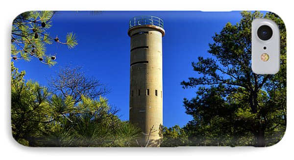 Fct7 Fire Control Tower #7 - Observation Tower IPhone Case by Bill Swartwout