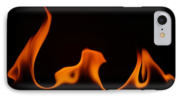 Fire Dance IPhone Case by Chris Fraser
