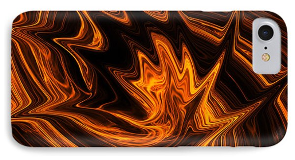 Fire Dancer IPhone Case by A Dx