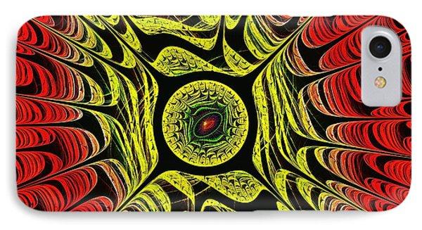 Fire Dragon Eye IPhone Case by Anastasiya Malakhova