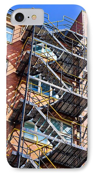 Fire Escape IPhone Case by Tom Gowanlock