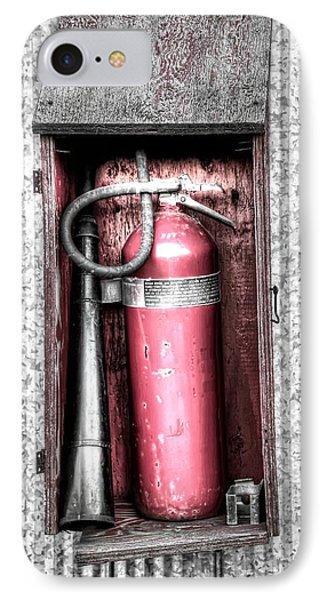 Fire Extinguisher IPhone Case by Michaela Preston