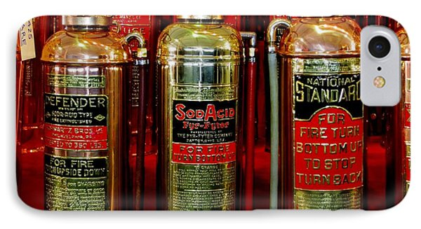 Fire Extinguishers IPhone Case