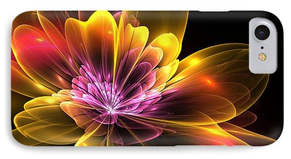 Fire Flower Phone Case by Svetlana Nikolova