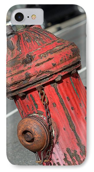 Fire Hydrant Phone Case by Lisa Phillips