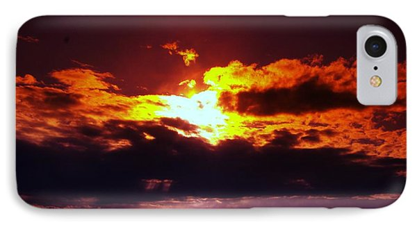 Fire In The Clouds Phone Case by Jeff Swan