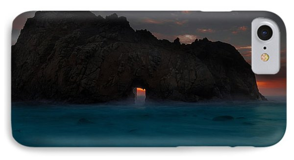 Fire In The Hole.... Big Sur IPhone Case by Tim Bryan