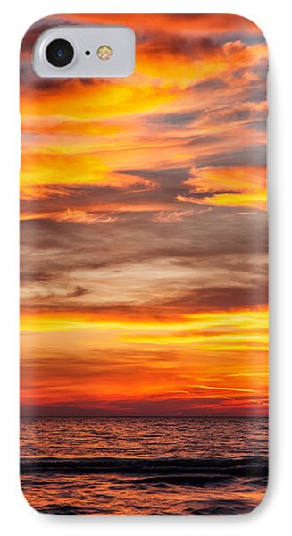 Fire In The Sky Phone Case by Brian Boudreau