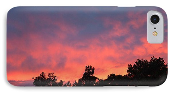 Fire In The Sky IPhone Case by Deborah Fay