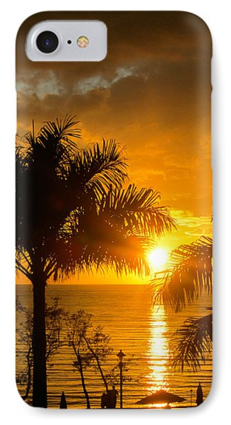 IPhone Case featuring the photograph Fire In The Sky by Jon Emery