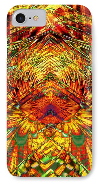 Fire In The Sky Phone Case by Kiki Art